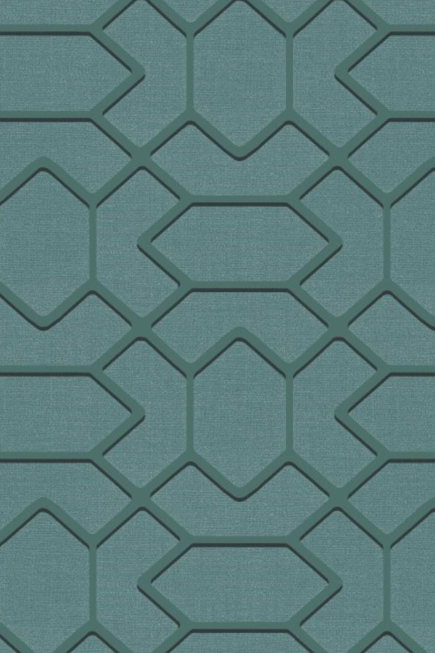 Fardis Geo Hex Wallpaper 12064