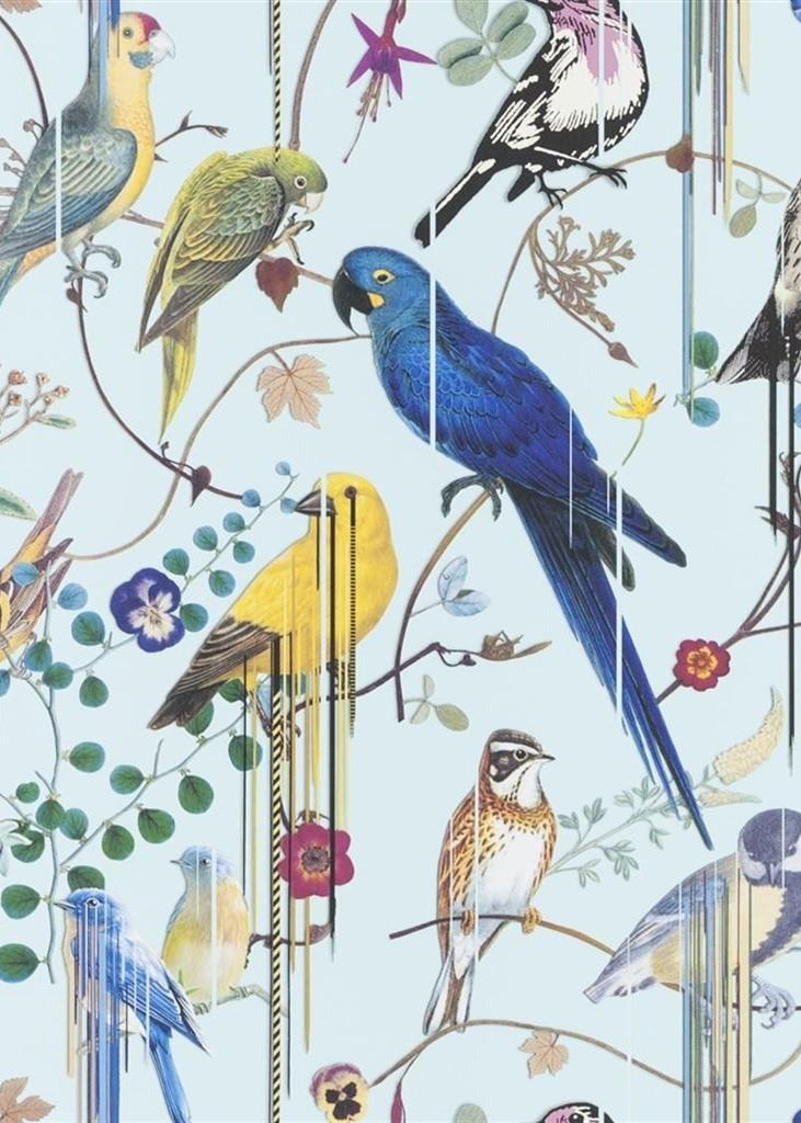 Christian Lacroix Birds Sinfonia Wallpaper PCL7017-06 Source