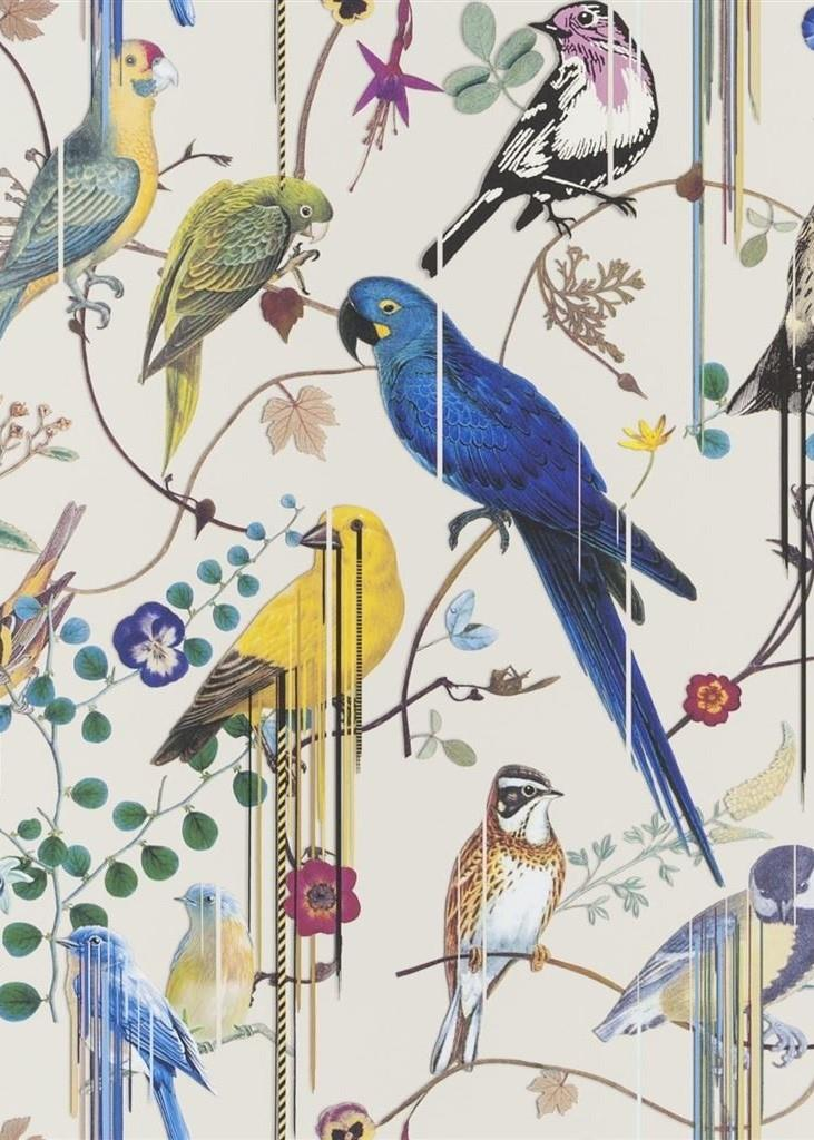 Christian Lacroix Birds Sinfonia Wallpaper PCL7017-07 Jonc