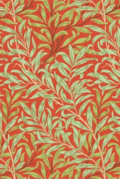 Morris & Co Queen Square Willow Bough Wallpaper DBPW216951