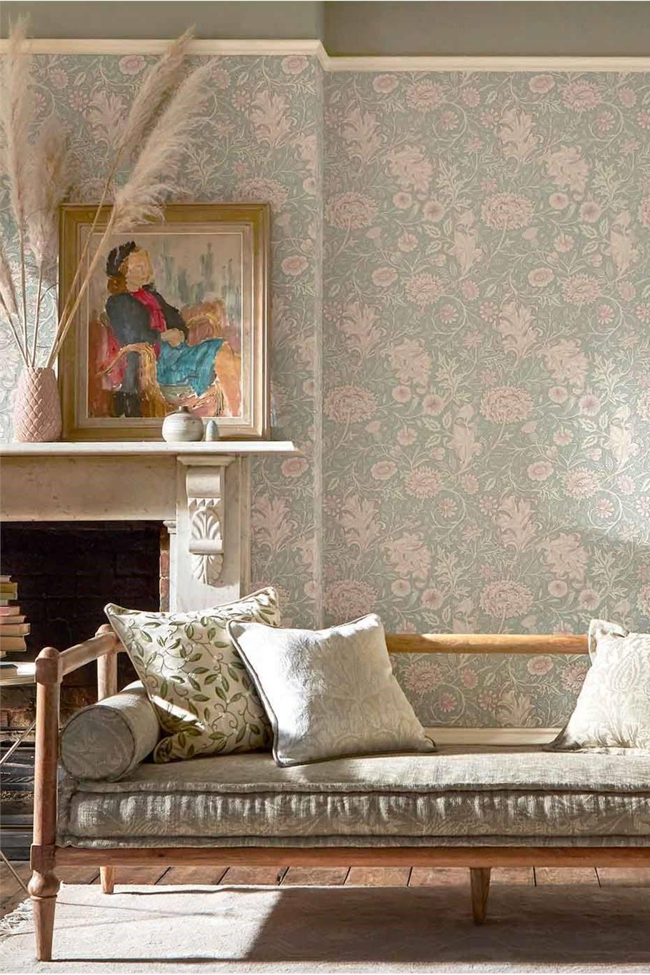 Morris & Co Melsetter Double Bough Wallpaper