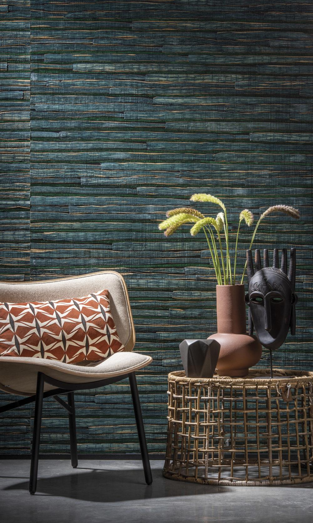 Omexco Sereya Woven Waterlily Wallcovering